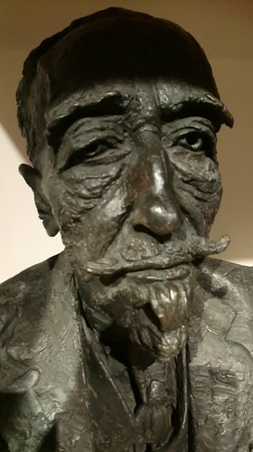 Joseph Conrad by Jacob Epstein at Manchester Art Gallery.