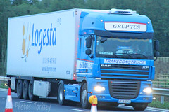 DAF XF (SR Photos Torksey) Tags: transport truck haulage hgv lorry lgv logistics road commercial vehicle freight traffic daf xf