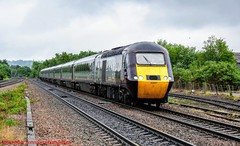 43207 @ Chesterfield (A J transport) Tags: class43 diesel locomotive mtu16v4000 43207 intercity pushpull 125 hst crosscountry trains railway railways train track nikkon d5300 dlsr