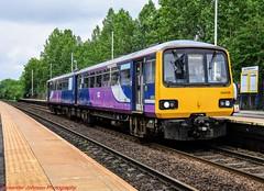 144005 @ Mexborough (A J transport) Tags: class144 pacer 144005 northern rail trains railway railways diesel dmu nikkon dlsr station platform england