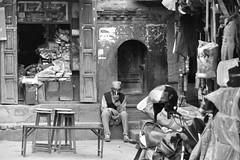 Tea moment (Ermanno Albano) Tags: street streetphotography blackwhite blacknwhite blackandwhite nepal bagmati bhaktapur