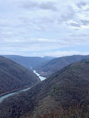 New River Gorge (GAWV) Tags: relieghcounty beckly westvirginia newrivergorge clouds fog alleghenymountains newriver cold rain view mountaintop