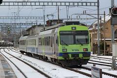 BLS Lötschbergbahn RBDe Pendel - Pendelzug mit blau - cremen Zwischenwagen am Bahnhof Burgdorf im Kanton Bern der Schweiz (chrchr_75) Tags: albumzzz201912dezember 2019 dezember chrchr chrchr75 chrigu chriguhurnibluemailch schweiz suisse switzerland svizzera suissa swiss albumbahnenderschweiz20190712 eisenbahn bahn albumbahnenderschweiz