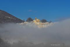 Breno (Lollo Riva) Tags: clouds breno ticino malcantone switzerland snow