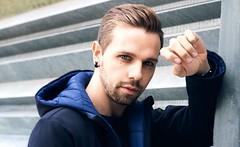 Manuel (sarah.wayn3) Tags: model canon photography portrait blueeyes eyes blue malemodel boymodel man boy male outdoor look 50mmcanon