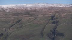 Signs of Winter 02 (byronv2) Tags: glasgow kirkintilloch scotland winter dusk night nuit nacht campsiehills hills geology snow weather