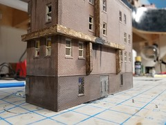 """""""STREET VIEW"""" (Set and Centered) Tags: ho scale model railroad railroading train custom ventilation building structure diy 187 jssx railway inspired"""