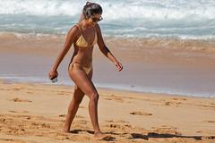 Suntan (coqrico) Tags: bikini tan suntan beach ocean seaside seashore ehukai oahu hawaii girl lady woman female iphone surf sand billabong pipe masters wsl world league north shore rico leffanta
