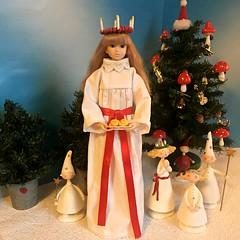 On December 13 we celebrate Santa Lucia in Sweden (Inger K) Tags: sekiguchi momoko honeywild elsa lucia