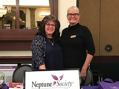 Neptune Society Plantation, FL: Participates in Social Worker & Case Manager Luncheon