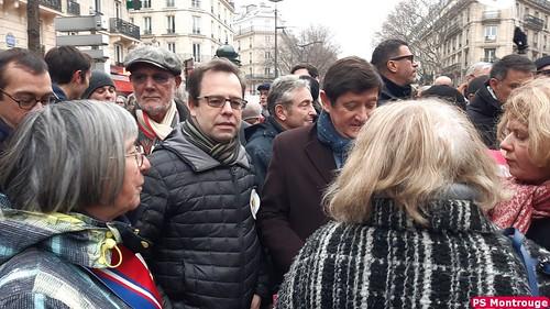 Manifestation pour une réforme juste - 5 décembre 2019
