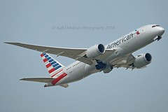 """American Airlines N810AN Boeing 787-8 Dreamliner cn/40628-339 """"8AL"""" @ EGLL / LHR 26-05-2018 (Nabil Molinari Photography) Tags: american airlines n810an boeing 7878 dreamliner cn40628339 8al egll lhr 26052018"""