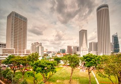 View of the Singapore's City hall CBD area (The Elephant's Tales Photography) Tags: cityscape cloudy afternoon standrewcathedral singapore cityhall theelephantstalesphotography nikonz7 nikon1430mm scenicsnotjustlandscape