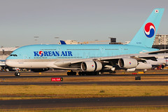 Korean Air Airbus A380-861 HL7615 (Mark Harris photography) Tags: spotting yssy sydney aviation canon airbus a380