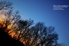 Moon (1.4 Days) Venus Mercury - 18Mar2018 (AstroJimJohn) Tags: howardastronomicalleague carrsmill mercury venus mars twilight