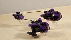 Frogracer: The FP-15 Royal Croaker (MCLegoboy) Tags: lego starwars moc myowncreation frogracer podracer royal croaker frog pod phantom menace 20th anniversary purple