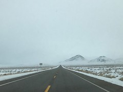 US 95 South in a winter storm (12) (Uncazag) Tags: nevada lakes wintersnow drive view valley openspace beauty nature