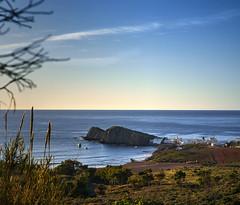Cuando el paisaje te hace feliz. (mariacabo65) Tags: playa mar azul cielo isletadelmoro cabodegata almería españa