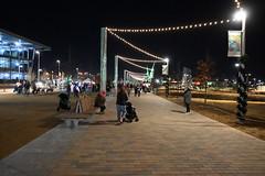 scissortail park okc (Andrew Penney Photography) Tags: downtownokc scissortailpark okc park downtown 405 night nighttime lights buildings art scissortail oklahomacity sugarplumpromenade inspyralcircusentertainment snowkingqueen