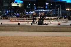 Concert (Andrew Penney Photography) Tags: downtownokc scissortailpark okc park downtown 405 night nighttime lights buildings art scissortail oklahomacity sugarplumpromenade inspyralcircusentertainment snowkingqueen