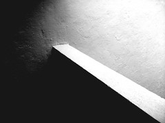 PERPENDICULARITY AND PERSPECTIVE (photographer_1971) Tags: blackandwhite bw wall shadow perspective abstract
