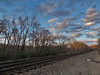 Late Day Along Tracks