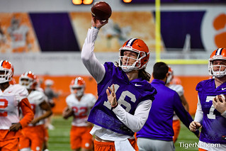 Clemson opens practice for 2019 Fiesta Bowl Photos