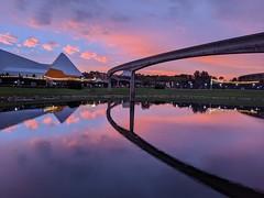 Sunset (ancientlives) Tags: epcot waltdisneyworld wdw disney florida orlando usa travel holidays christmas sunset