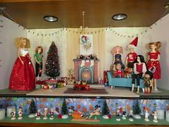 Christmas diorama (jarmie52) Tags: barbie momoko christmas diorama german ornaments