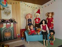 Momoko Christmas (jarmie52) Tags: momoko christmas diorama