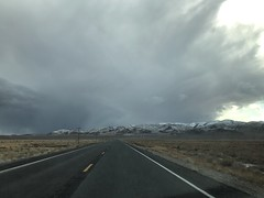US 95 South in a winter storm (6) (Uncazag) Tags: nevada lakes wintersnow drive view valley openspace beauty nature