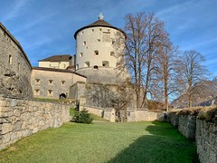 Fortress Kufstein in Tyrol, Austria (UweBKK (α 77 on )) Tags: österreich kufstein tyrol tirol austria europe europa iphone autumn autumnal fall herbst fortress castle building architecture history historic wall stone