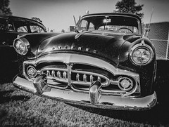 (CMFRIESE) Tags: exit111 musicfestival manchester tennessee rock metal blackandwhite iphoneography iphonex 2019 october usa packard car carshow