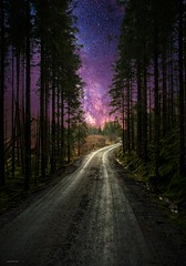 Purple Haze (Jorge Falck Photography) Tags: landscapes landscape landscapephotography landscapedreams landscapephotographer norway norwegianlandscapes ngc norsknatur norsklandskap norwegianlandscape norwegian misty milky way milkyway dramaticlandscape dramatic drama darkart dark dirtroad dreams canon6d countrysidelandscape canonphotography compositephotograpy fairytalelandscape trees forest postcardlandscape road digitalart jørgenfalckphotography jorgefalckphotography flickrlandscape fineartlandscape