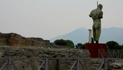 Igor Mitoraj sculpture, Pompeii (dw*c) Tags: pompeii naples napoli italy italia italio europe travel trip historic history nikon picmonkey sculpture sculptures statues statue