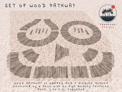 [Kawukewa Designs] Wood Pathway (Kawukewa Designs) Tags: second life kawukewa pathway boardwalk beach sand tropical landscaping landscape decor home garden designs