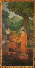 Aṅgulimāla's Conversion (Wolfgang Bazer) Tags: angulimala buddha conversion fingergarland finger necklace wat chana songkhram chanasongkhram ratchaworamahawiharn วัดชนะสงครามราชวรมหาวิหาร วัดชนะสงคราม bangkok thailand