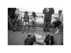 a day at the beach, Sydney 2019  #702 (lynnb's snaps) Tags: hp5 id11 iso800 leicaiiif bw film 2019 leicasummitar50mmf20ltm beach children manlybeach sydney australia street leicafilmphotography people ilfordfilm ilfordhp5 blackandwhite bianconegro biancoenero blackwhite bianconero blancoynegro noiretblanc schwarzweis monochrome ishootfilm filmfilmforever filmneverdie