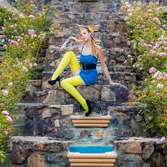 Charli Blake (Thomas Hawk) Tags: america california charliblake eastbay garden morcomrosegarden oakland usa unitedstates unitedstatesofamerica fountain fav10 fav25 fav50 fav100