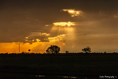 On the 8th Day, He Created HF Communications *EXPLORED* (Peedie68) Tags: australia northernterritory nt humptydoo antenna clouds storm stormclouds sunset