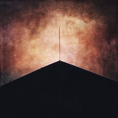 Tropic of Capricorn I (ChrisRSouthland (mostly off, traveling & working)) Tags: roof minimalism minimal darwin texture color iphone