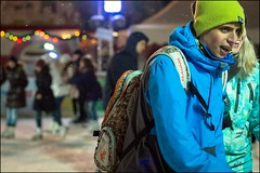 1_DSC6511 (dmitryzhkov) Tags: russia moscow documentary street life color colour night human reportage social public urban city photojournalism streetphotography people conversation speak lowlight nightphotography ice rink dmitryryzhkov talk everyday candid stranger