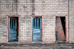What's behind door number 2 (EV Fstop) Tags: brick wood doors decay south brinkley arkansas usa 2019 nikon z7 raw nef lr