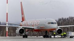 VQ-BKK - Boeing 757-223(SF) - Aviastar-TU (Zhuravlev Nikita) Tags: spotting elizovo kamchatka uhpp pkc boeing 757 aviastar tupolev