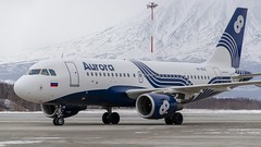VP-BUO Aurora Airbus A319-111 (Zhuravlev Nikita) Tags: spotting elizovo kamchatka uhpp pkc aurora flyaurora a319 319