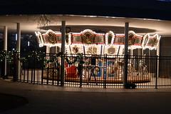 Myriad Botanical Gardens (Andrew Penney Photography) Tags: downtownokc scissortailpark okc park downtown 405 night nighttime lights buildings art scissortail oklahomacity sugarplumpromenade oge illuminations crystalbridge