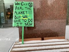 Emergency Climate Strike for COP25 (livingsanctuary) Tags: edmonton yeg climateaction yegactivist climatechange fridaysforfuture cop25 madrid yegphotographer