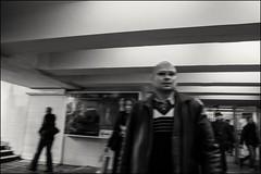 4_DSC6007 (dmitryzhkov) Tags: russia moscow documentary street life human monochrome reportage social public urban city photojournalism streetphotography people bw night lowlight nightphotography underground tunnel corridor dmitryryzhkov blackandwhite everyday candid stranger