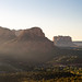Sunrise Beams in Sedona