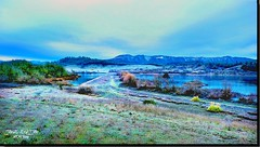FROST COVERS FORD'S BOND (jawadn_99) Tags: sutherlin oregon tranquil quiet calm static peaceful usa park lake birds water trees reflections interrestingness clouds fallseason birdswaching panorama bond explore frost